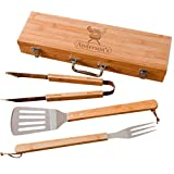 Personalized Grilling BBQ Set for Fathers Day,...