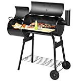 Giantex BBQ Grill Charcoal Barbecue Grill Outdoor Pit...
