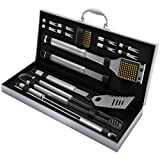 Home-Complete HC-1000 BBQ Accessories – 16PC Grill...