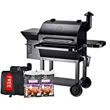 Z GRILLS ZPG-10002B Wood Pellet Grill and Smoker 1000...