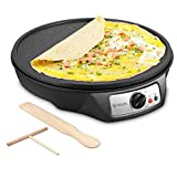 Electric Crepe Maker, iSiLER Nonstick Electric Pancakes...