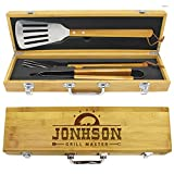 The Wedding Party Store Engraved Grill BBQ Gifts Set...