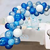 Blue Balloons Garland Arch Kit For Blue balloon...