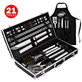 Kaluns Grill Accessories, Grill Set, 21 Piece Grilling...