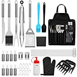BBQ Grill Accessories, 39PCS Stainless Steel Grilling...
