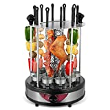 lijunjp Vertical Electric Grill, Home Automatic...