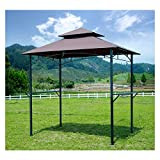 GOJOOASIS Barbecue Grill Gazebo Outdoor 2-Tier BBQ...