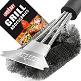 Grill Brush and Scraper - Extra Strong BBQ Cleaner...