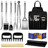 Veken BBQ Grill Accessories, Stainless Steel BBQ Tools...