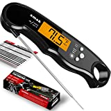 Smak Instant Read Meat Thermometer - Waterproof Kitchen...