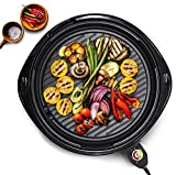 Maxi-Matic EMG-980B Indoor Electric Nonstick Grill...