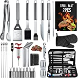 SixSun 34PCS BBQ Grill Tools Set Stainless Steel...