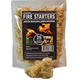 100% Natural Charcoal Fire Starters Waterproof,Super...