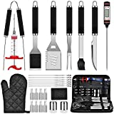 28PCS BBQ Grill Accessories Tools Set, Stainless Steel...