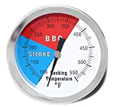 DOZYANT 3' BBQ Thermometer Temperature Gauge for...