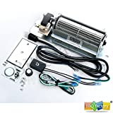 bbq factory GZ550 Replacement Fireplace Blower Fan KIT...