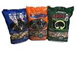 Western Perfect BBQ Smoking Wood Chips Variety Pack -...