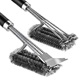 Arssilee Grill Cleaning Brush - Stainless Steel BBQ...
