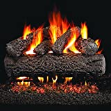 Peterson Real Fyre 18-inch Post Oak Log Set With Vented...