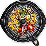 Maxi-Matic Smokeless Indoor Electric BBQ Grill with...