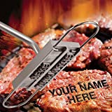 willway BBQ Meat Branding Iron with Changeable Letters...