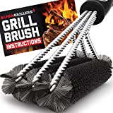 Alpha Grillers Grill Brush. Rust Proof Bbq Cleaning...