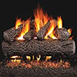 Peterson Real Fyre 24-inch Post Oak Log Set With Vented...